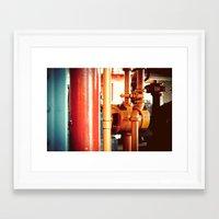 channel Framed Art Prints featuring Channel by Kiersten Marie Photography