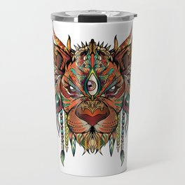 Majestic Lion Travel Mug