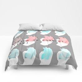 Phone. Comforters