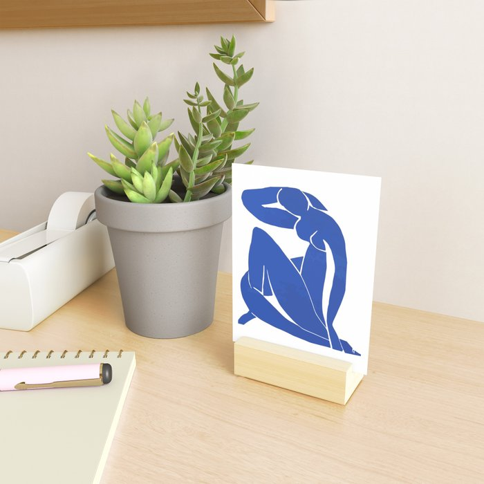 Henri Matisse - Blue Nude 1952 - Original Artwork Reproduction Mini Art Print