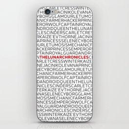 Type: Lunar Chronicles iPhone Skin
