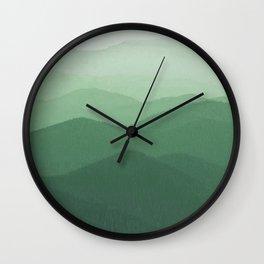 Hunter Mountain summer Wall Clock