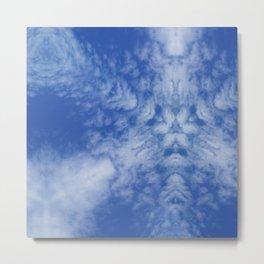Pattern of clouds 01 Metal Print