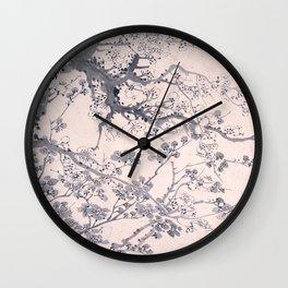 Plum Blossoms Wall Clock