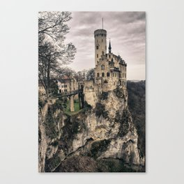 Fairytale Home Canvas Print
