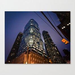 New York Future Canvas Print