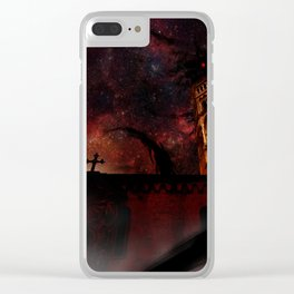 Not The God We Expected Clear iPhone Case