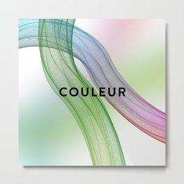 COULEUR Metal Print