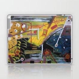Cafe Terrace at Night a la Mela Laptop & iPad Skin