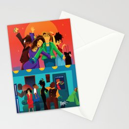 Living Single Followed by Martin Stationery Cards