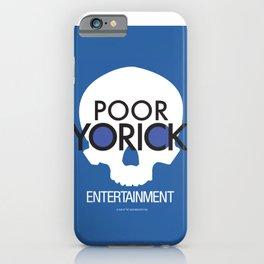Poor Yorick Entertainment - Infinite Jest iPhone Case