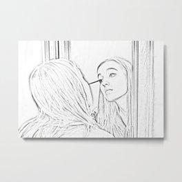 Makeup Metal Print