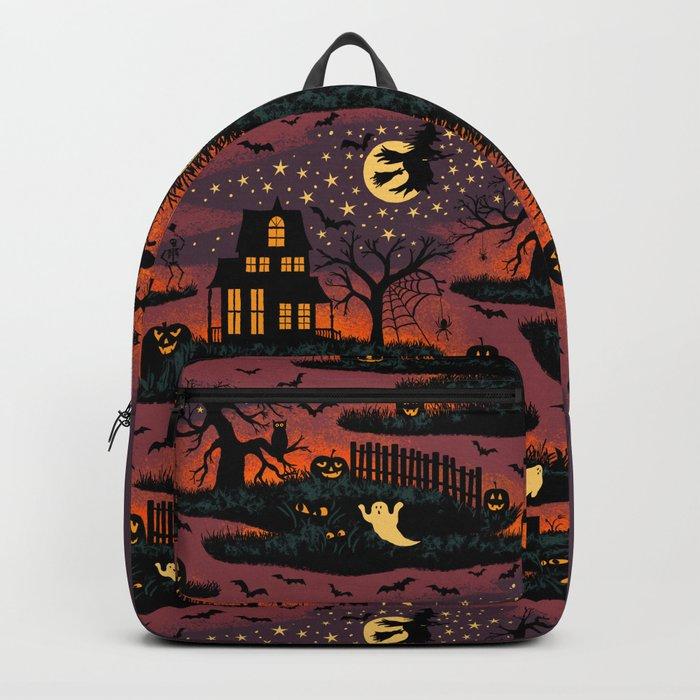 Halloween Night - Bonfire Glow Rucksack