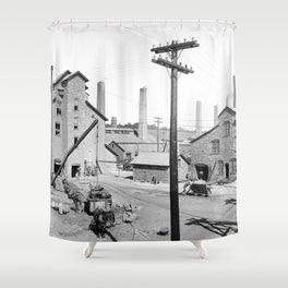 Lake Linden, Michigan 1900 Shower Curtain