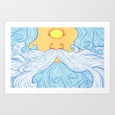 Skyclops Art Print