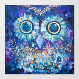 Visions in the Night Canvas Print
