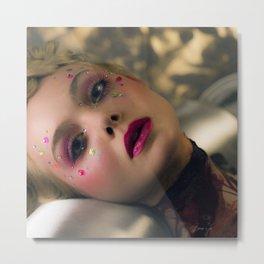 Elle - Blood. Metal Print