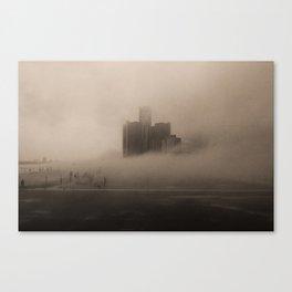 Dissipation  Canvas Print