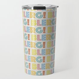 BLERG! in color Travel Mug