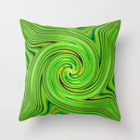 racing Throw Pillows featuring Racing.... by Cherie DeBevoise