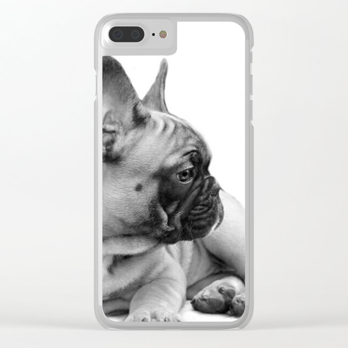FrenchBulldog Puppy Clear iPhone Case