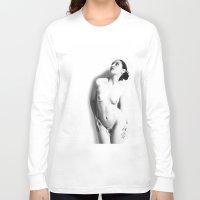 nudes Long Sleeve T-shirts featuring Nude by Falko Follert Art-FF77