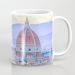 Cathedral of Santa Maria del Fiore  Florence Italy Coffee Mug