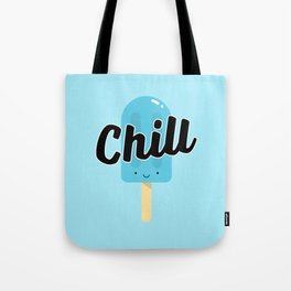 Chill Ice Pop (Blue) Tote Bag