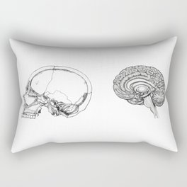 Flesh and Bone Rectangular Pillow