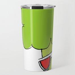 Lady Broccoli in 3D Series pt. 3 Travel Mug