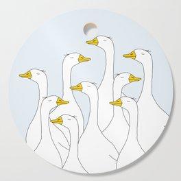 Ducks Cutting Board