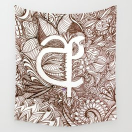 A in Sinhala Wall Tapestry