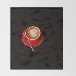 Coffee for Lovers Throw Blanket