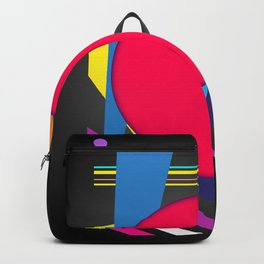 Abstract modern print Backpack