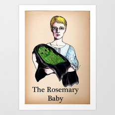 THE ROSEMARY BABY Art Print