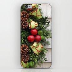 Holiday Wreath iPhone & iPod Skin
