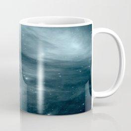 Galaxy : Pleiades Star Cluster NeBula Steel Blue Coffee Mug