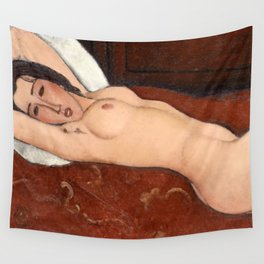 "Amedeo Modigliani ""Reclining Nude"" Wall Tapestry"