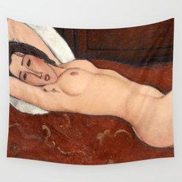 "Amedeo Modigliani ""Reclining Nude"" Wall Tapestry"