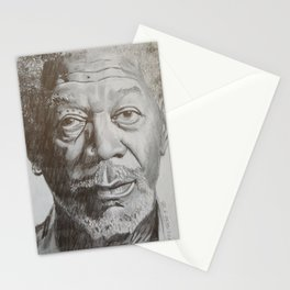 Morgan Freeman Stationery Cards
