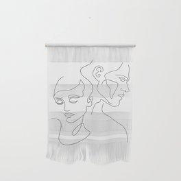 Couple Minimal Line Wall Hanging