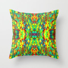 Happy Trails Throw Pillow
