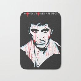 Scarface movie portrait Bath Mat