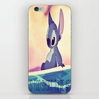 stitch iPhone & iPod Skins featuring Stitch by Chiaris