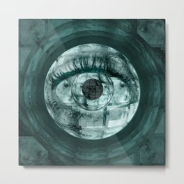 Big Brother Keeps An Eye From The Multiverse Metal Print