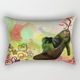 Lucky High Heels Rectangular Pillow