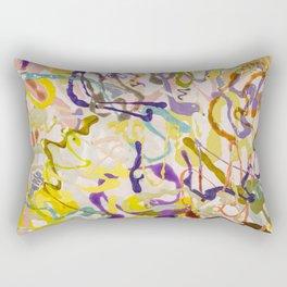 Shamanic Painting 05 Rectangular Pillow