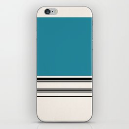 Code Teal iPhone Skin