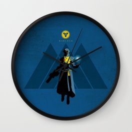 030 Warlock D2 Wall Clock