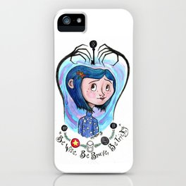 Coraline Jones iPhone Case